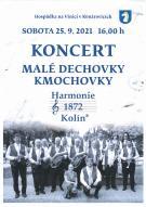 Koncert malé dechovky Komochovky 1